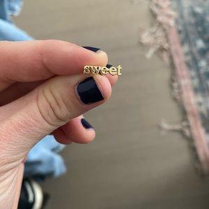 Jennifer Meyer Sweet stud earring